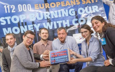 Europeans demand: stop burning our money with coal!