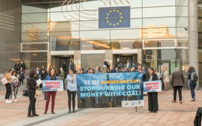 Stop Burning Our Money: EU Governments told to end €38bn toxic funding for coal